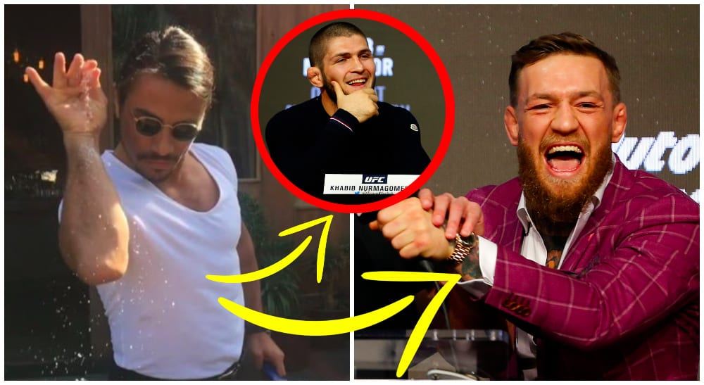 MMA: UFC 229: Conor McGregor and Khabib Nurmagomedov / © Noah K. Murray. Salt Bae