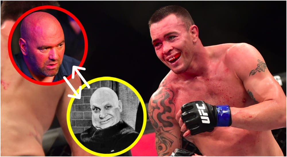 Colby Covington © Jason Silva-USA TODAY Sports / Dana White © Mark J. Rebilas