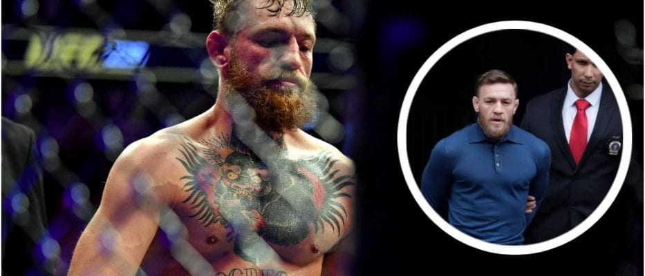 Conor McGregor (© Stephen R. Sylvanie-USA TODAY Sports)