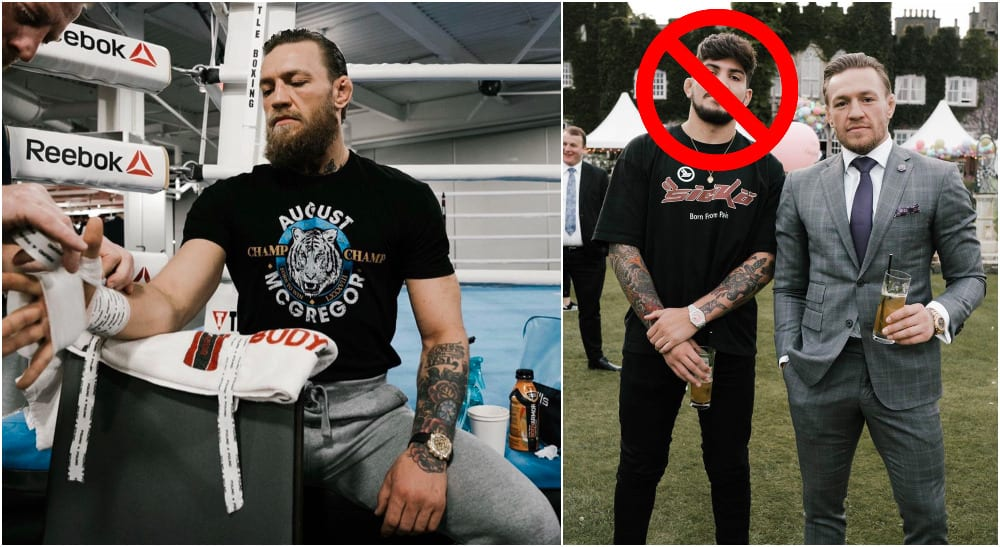 Conor McGregor Dillon Danis (pictures: @thenotoriousmma & @dillondanis)