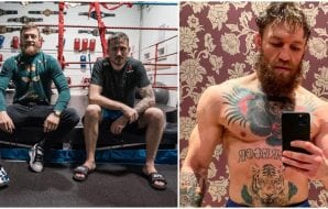 John Kavanagh Conor McGregor (Pictures from IG_ thenotoriousmma)