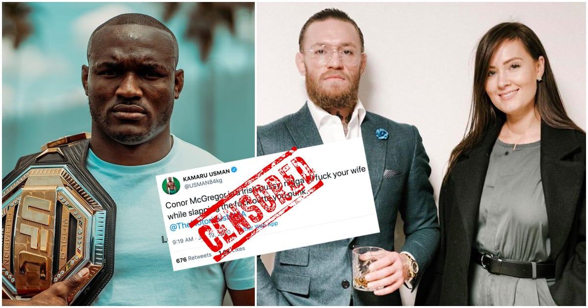 Kamaru Usman Conor McGregor tweet