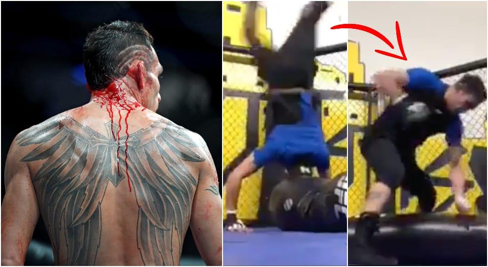 Tony Ferguson förbereder sig för UFC 249 och matchen mot Khabib Nurmagomedov