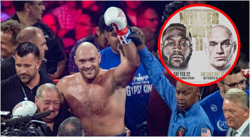 Tyson Fury Deontay Wilder (Pictures_ @gypsyking101)