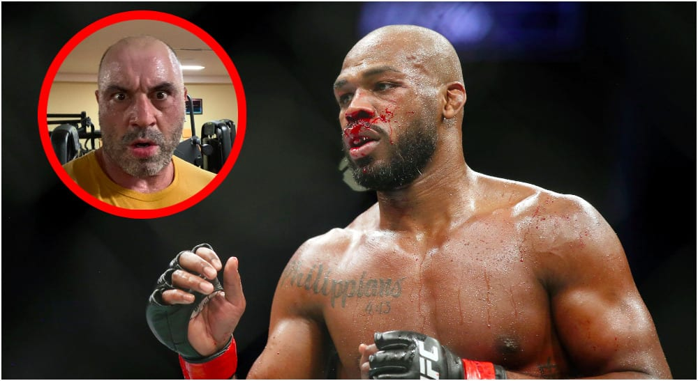 UFC 247 Jon Jones (© Thomas Shea-USA TODAY Sports + IG_ @JoeRogan)