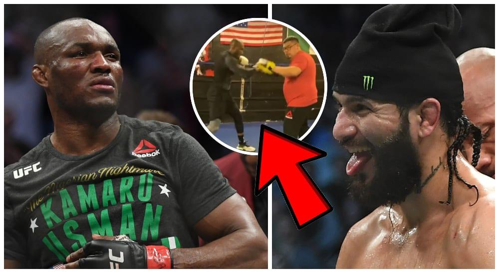 Kamaru Usman UFC MMA Jorge Masvidal