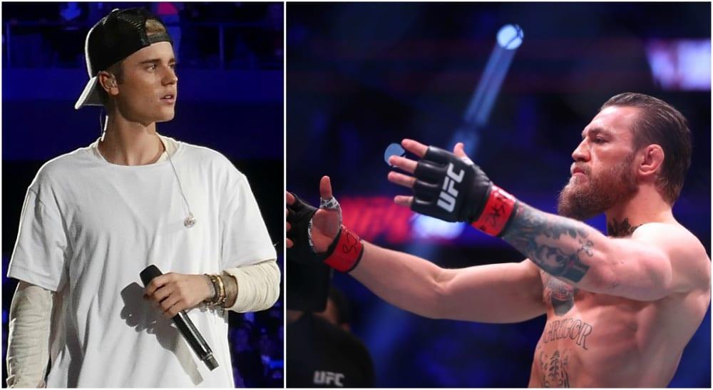 Justin Bieber UFC MMA Tom Cruise Conor McGregor