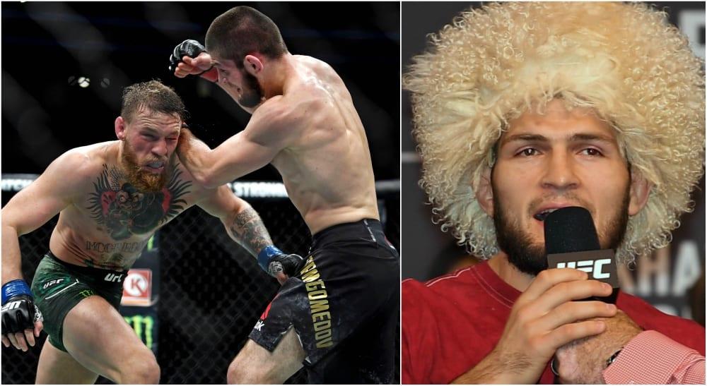 Khabib Conor McGregor UFC MMA