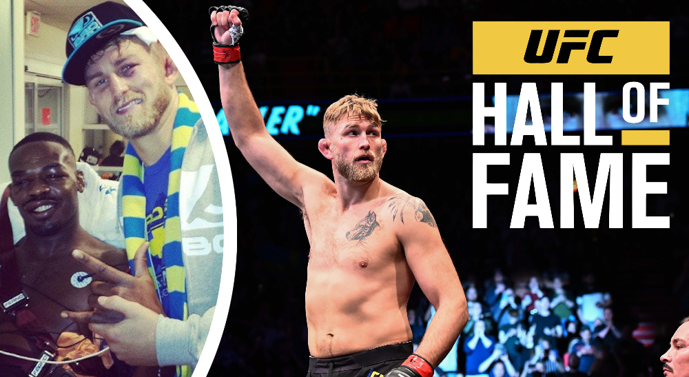Alexander Gustafsson väljs in i UFC Hall of Fame, för sin episka titelfight mot Jon Jones.