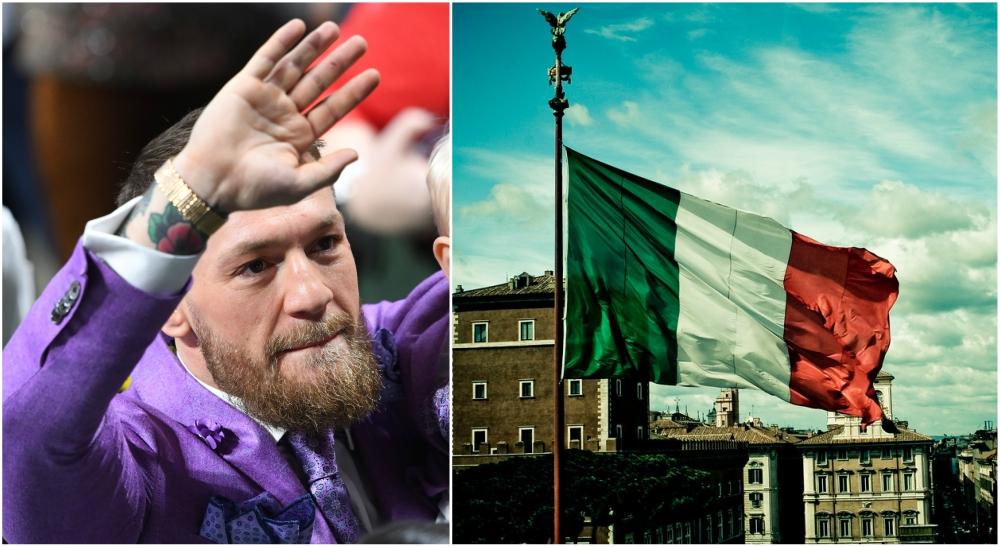 Conor McGregor Italien MMA UFC Italy Italia