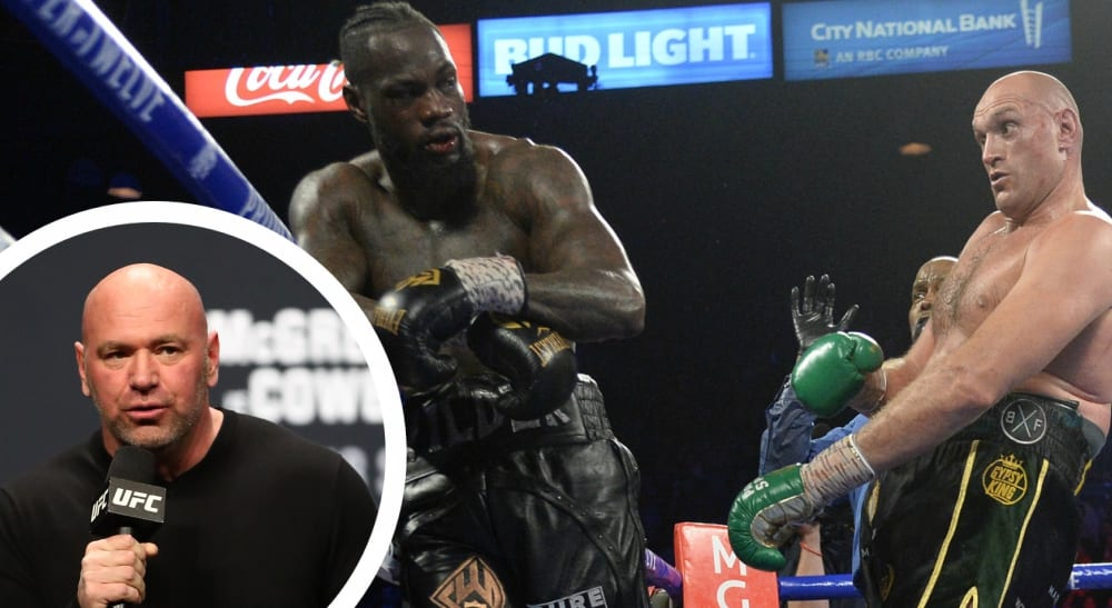 Dana White Deontay Wilder Tyson Fury Boxning tungvikt