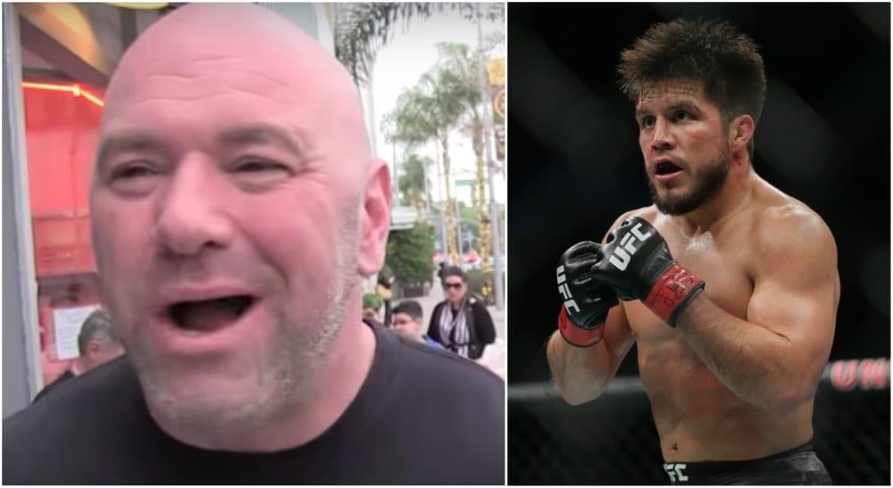 Dana White UFC Henry Cejudo MMA Jose Aldo