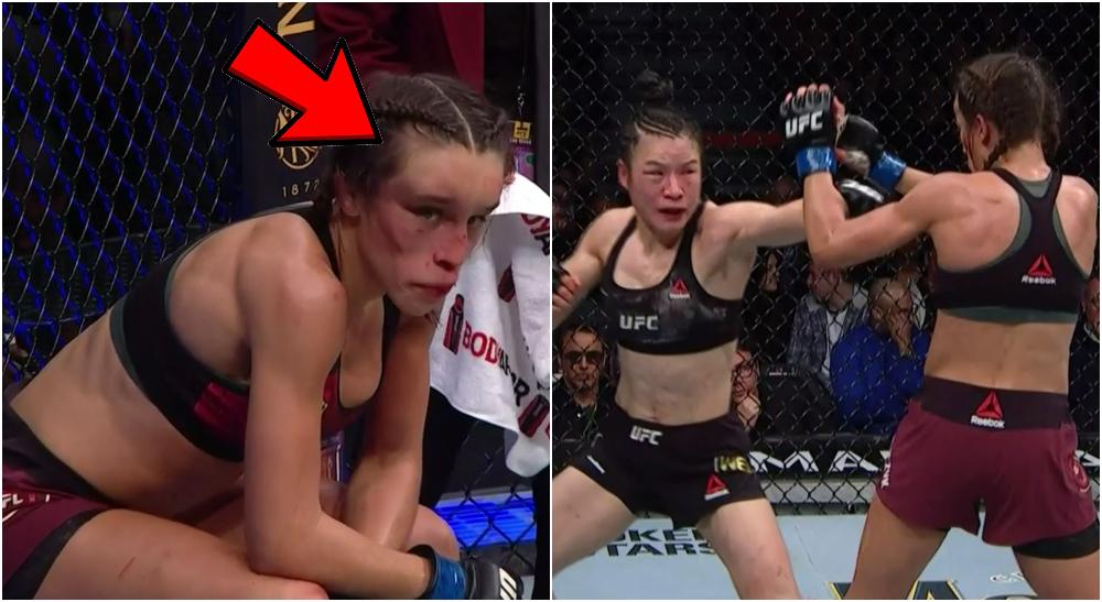 Joanna MMA UFC Weili Zhang UFC 248