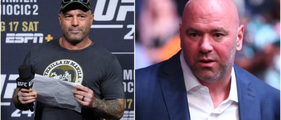 Joe Rogan UFC Dana White vagrar MMA