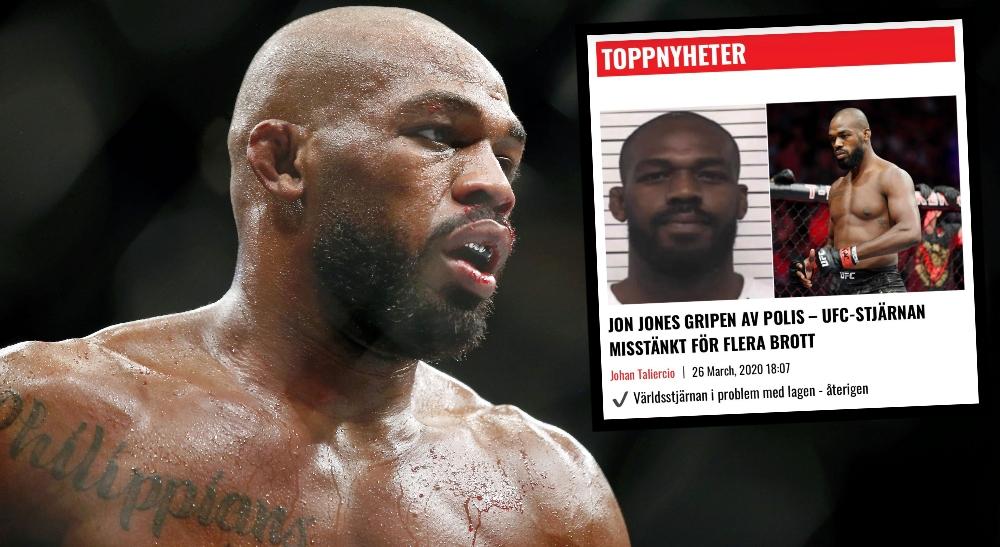 UFC släpper uttalande – om nya Jon Jones-skandalen