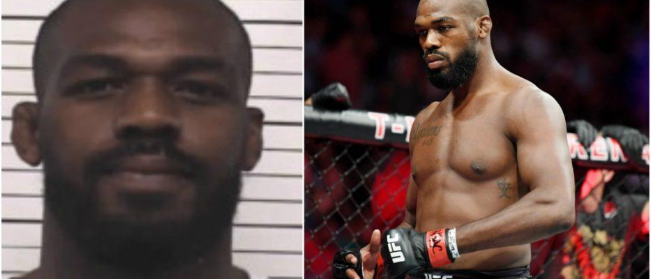 Jon Jones UFC MMA rattfylleri vapeninnehav MMA Jon Jones
