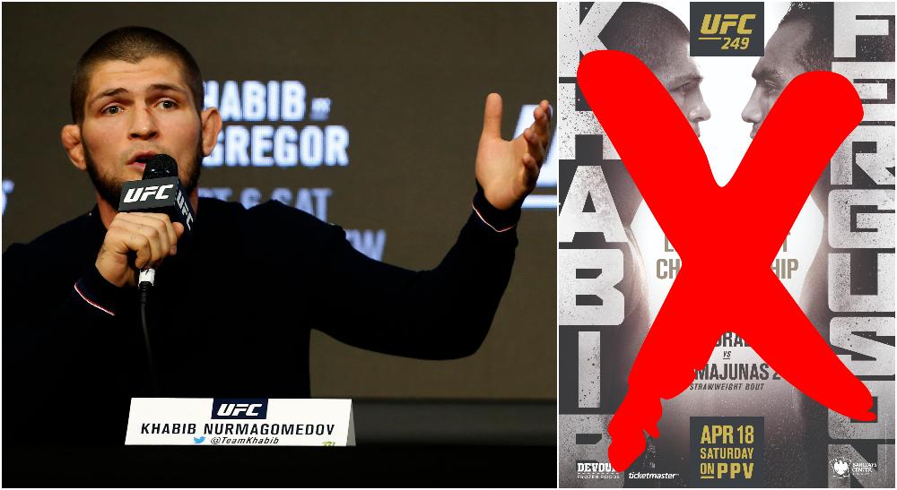 UFC 249: Khabib vs Ferguson kommer inte längre äga rum i New York