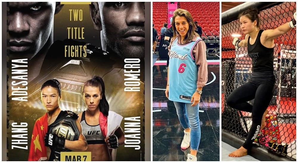 UFC 248 Israel Adesanya Joanna Jedr Zhang Weili