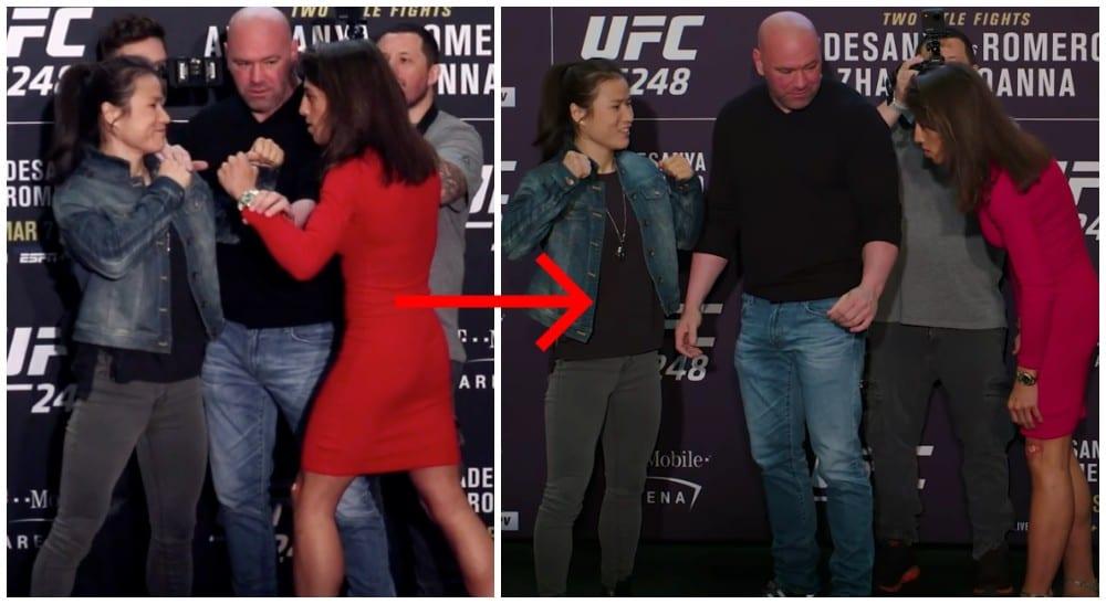 Zhang Weili Joanna UFC 248