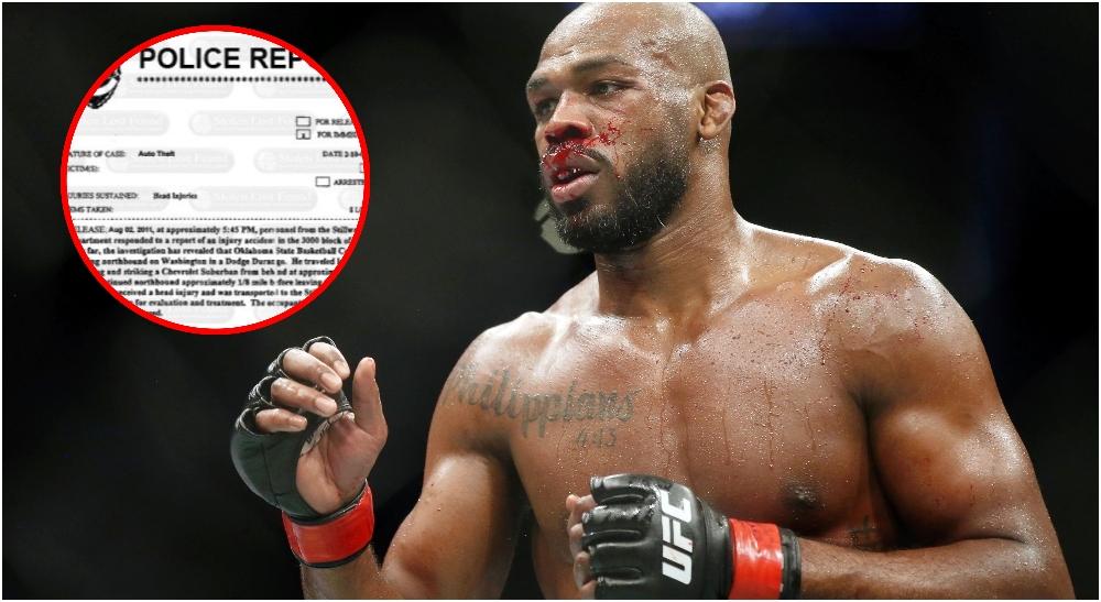 UFC MMA Jon Jones polis