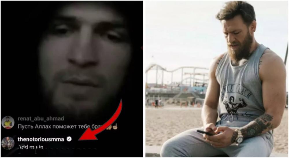 Conor McGregor UFC MMA UFC 249 Khabib kapa