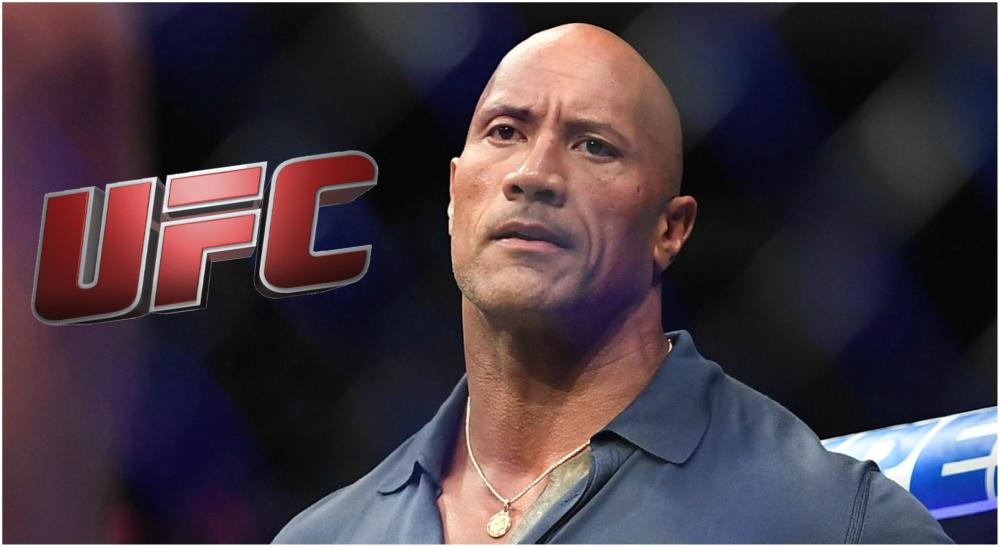 The Rock UFC MMA Meddelande 1