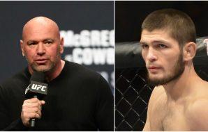 UFC 249 Khabib Ferguson Dana White besked i natt