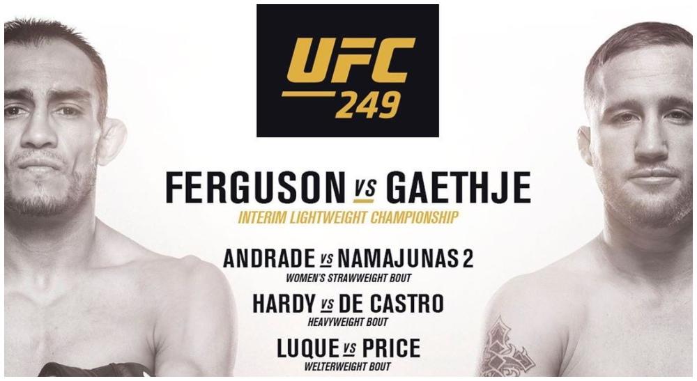 UFC 249 Rose Namajunas Jessica Andrade