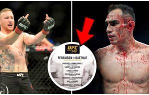 UFC 249 Tony Ferguson Justin Gaethje MMA 1