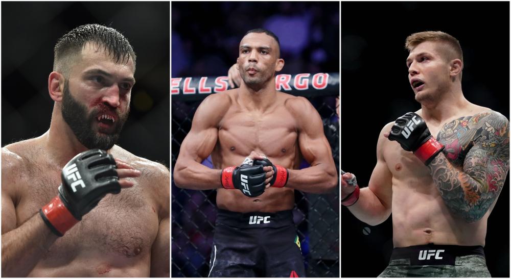 UFC nya matcher MMA 176 175