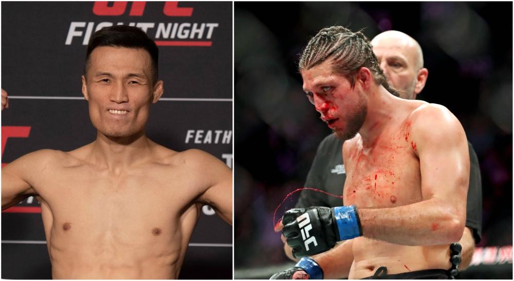 Brian Ortega Korean Zombie UFC MMA bokas om