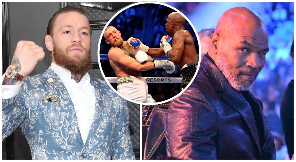 Conor McGregor Mike Tyson UFC MMA Boxning Floyd Mayweather