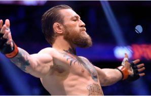Conor McGregor weltervikt (© Mark J. Rebilas-USA TODAY Sports)