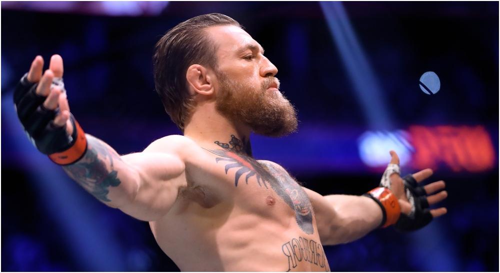 Conor McGregor weltervikt (© Mark J. Rebilas-USA TODAY Sports)