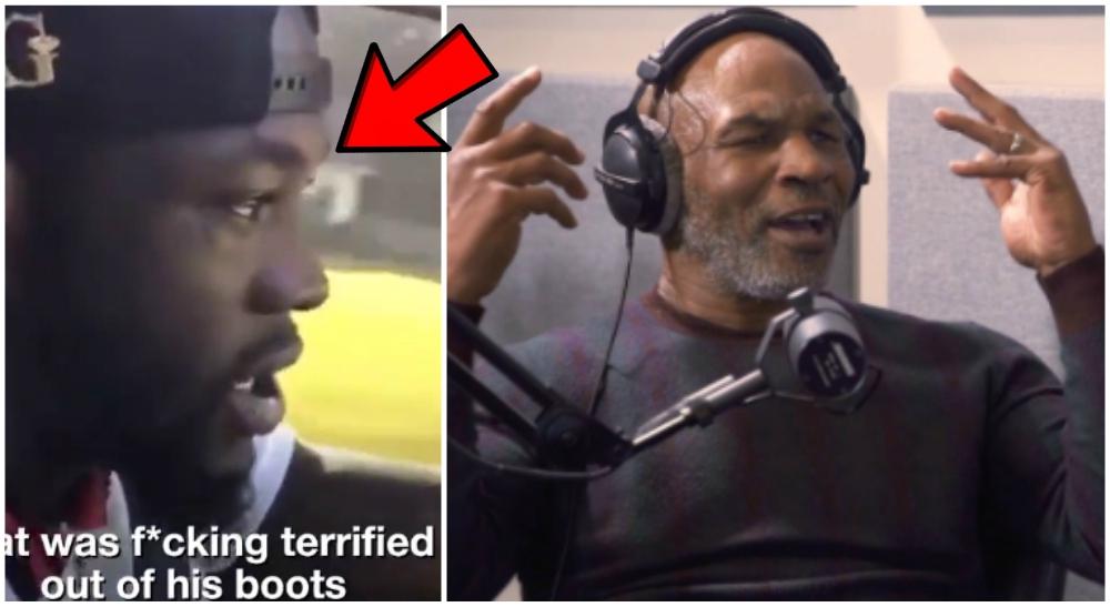 Deontay Wilder Mike Tyson fansen rasar