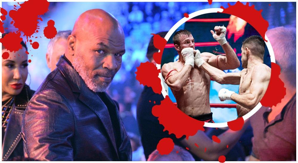Iron Mike Tyson Bare Knuckle (© Joe Camporeale-USA TODAY Sports & WLC)
