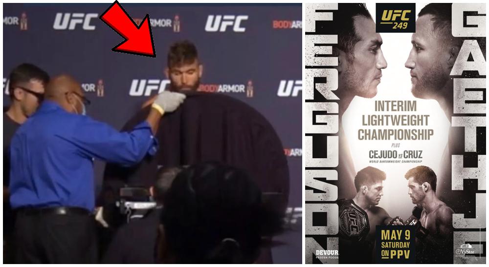 UFC 249 Jeremy Stephens