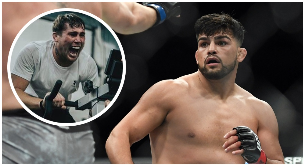 Kelvin Gastelum (© Sarah Stier-USA TODAY Sports & Instagram) (1)