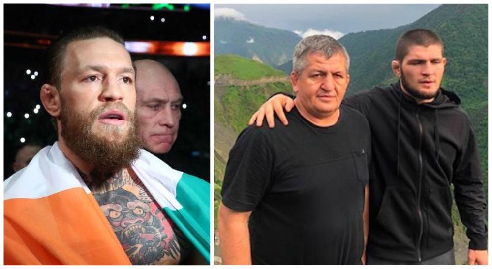 Khabib Conor McGregor Abdulmanap Nurmagomedov UFC MMA