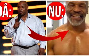 Mike Tyson Fysik MMA UFC Boxning 1231