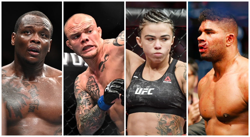 UFC avslöjar Ovince Anthony Smith Claudia Gadelha Alistair Overeem (© Per Haljestam-USA TODAY Sports)