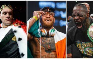 UFC MMA lista loner pengar Conor McGregor Tyson Fury Deontay Wilder 1