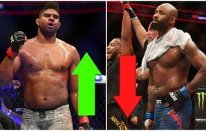UFC löner DonTale Mayes Alistair Overeem MMA