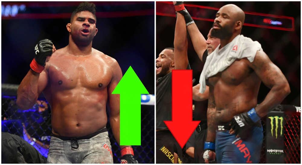 UFC löner DonTale Mayes Alistair Overeem MMA