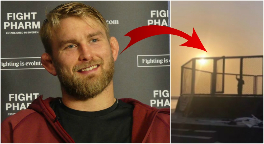 Alexander Gustafsson UFC Fight Island Dana White