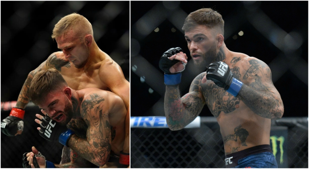 Cody Garbrandt UFC MMA besked