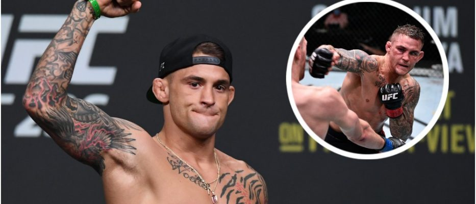 Dustin Poirier (© Adam Hagy-USA TODAY Sports)