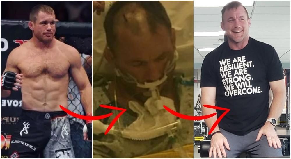 UFC-legendaren Matt Hughes (Wrestlingworld & Instagram)