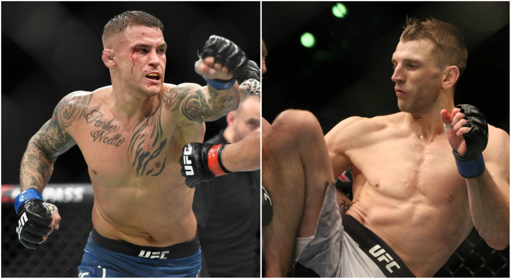 UFC FIGHT NIGHT POIRIER VS HOOKER matchkort