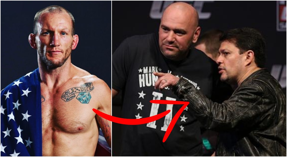 UFC veteranen Gray Maynard Dana White Joe Silva (Instagram & The MacLife)